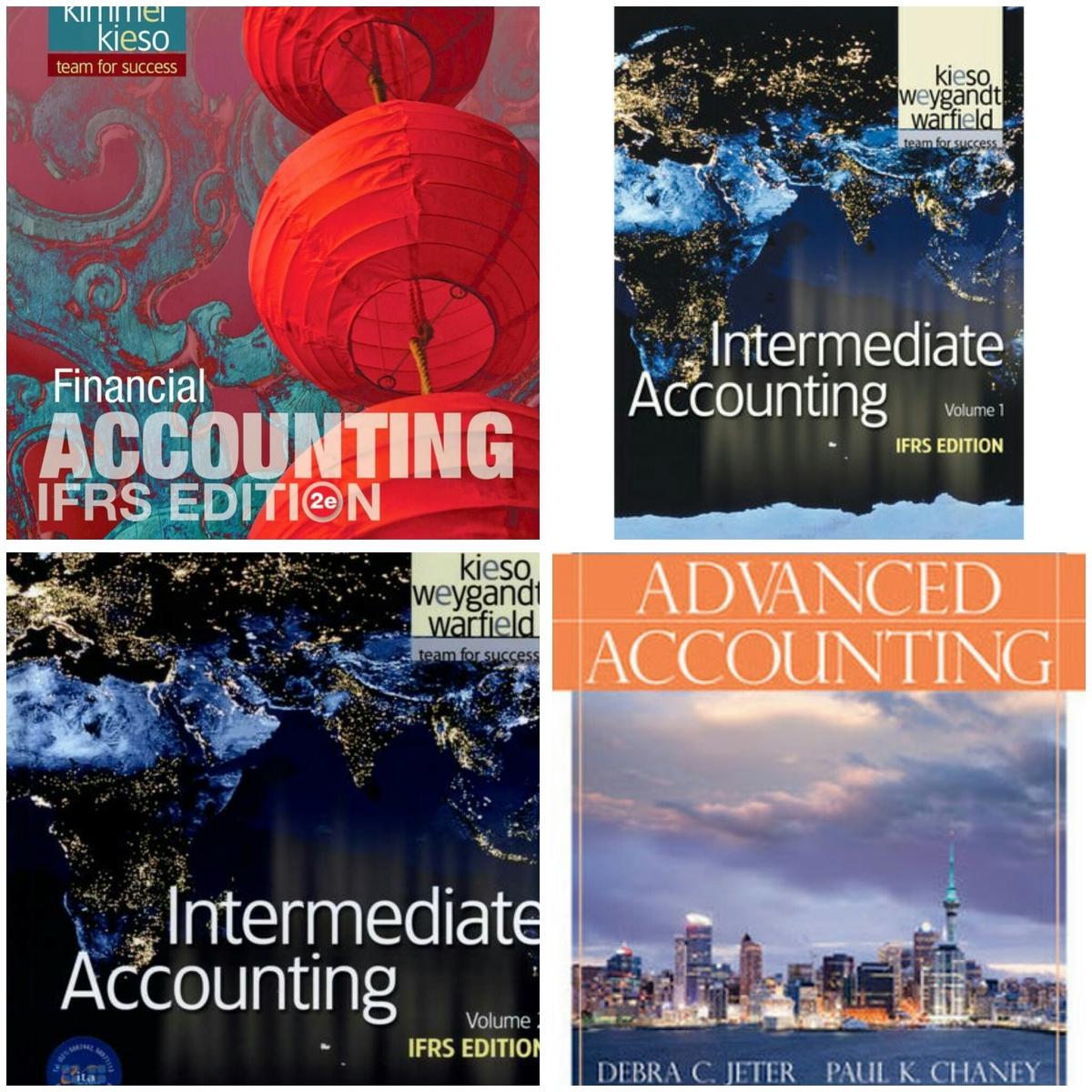 Solution Manual Financial Accounting Intermediate Accounting Dan Advanced Accounting Masiuseyo